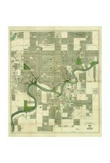 Vivid Archives Driscoll & Knight Edmonton Map 1912 Small