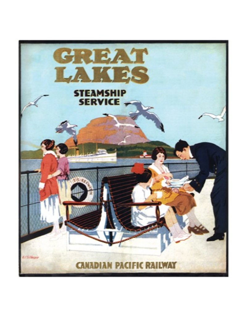 Eurographics Great Lakes Steamship Service - Canadian Pacific Railway
