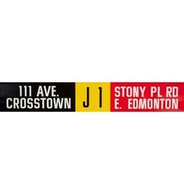 Vivid Print ETS Single Destination | 111 Ave. Crosstown / 118 Ave. Calder-N. Edm.