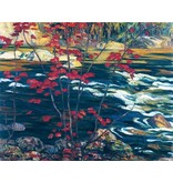 Eurographics Jackson - The Red Maple (Paper Giclee)