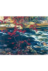 Jackson - The Red Maple (Paper Giclee)
