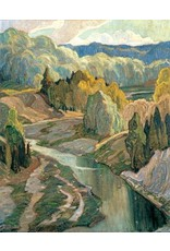 Eurographics Carmichael - The Valley (1921) (Paper Giclee)