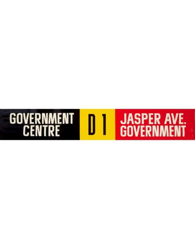 ETS Single Destination | Government Centre / Jasper Ave. Government