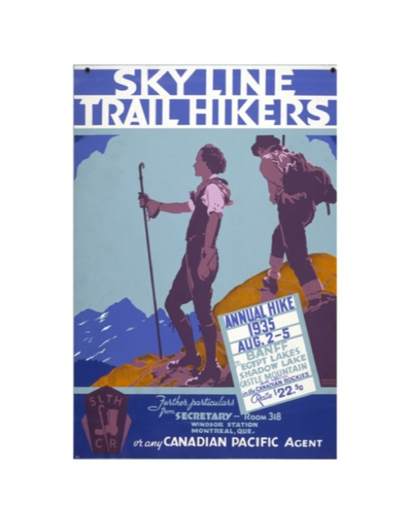 Eurographics Sky Line Trail Hikers, Annual Hike 1935