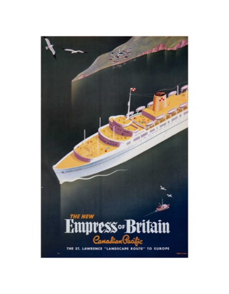 Eurographics The New Empress of Britain
