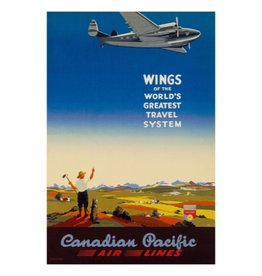 Eurographics Wings of the World's Greatest Travel System - Canadian Pacific Air Lines