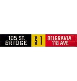 ETS Single Destination | 105 St. Bridge / Belgravia 118 Ave.