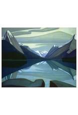 Harris - Maligne Lake, Jasper Park (Paper Giclee)