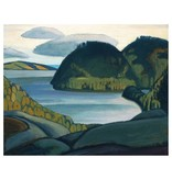 Eurographics Harris - Coldwell Bay, North of Lake Superior  (Paper Giclee)