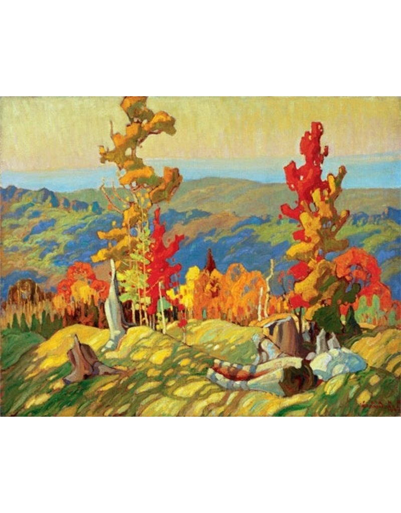Eurographics Carmichael - Autumn In The Northland (Paper Giclee)