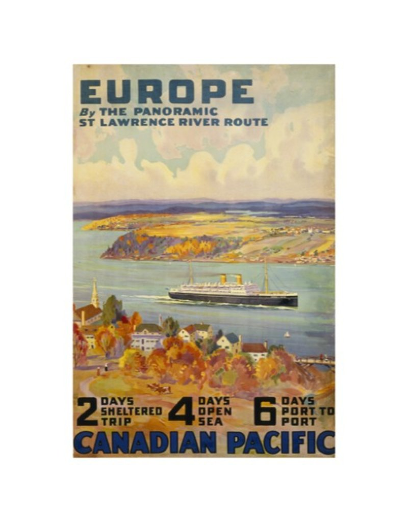 Eurographics Europe by the Panoramic St Lawrence River Route