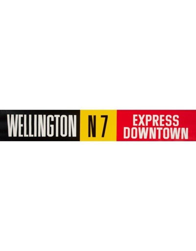 Vivid Print ETS Single Destination | Wellington / Express Downtown