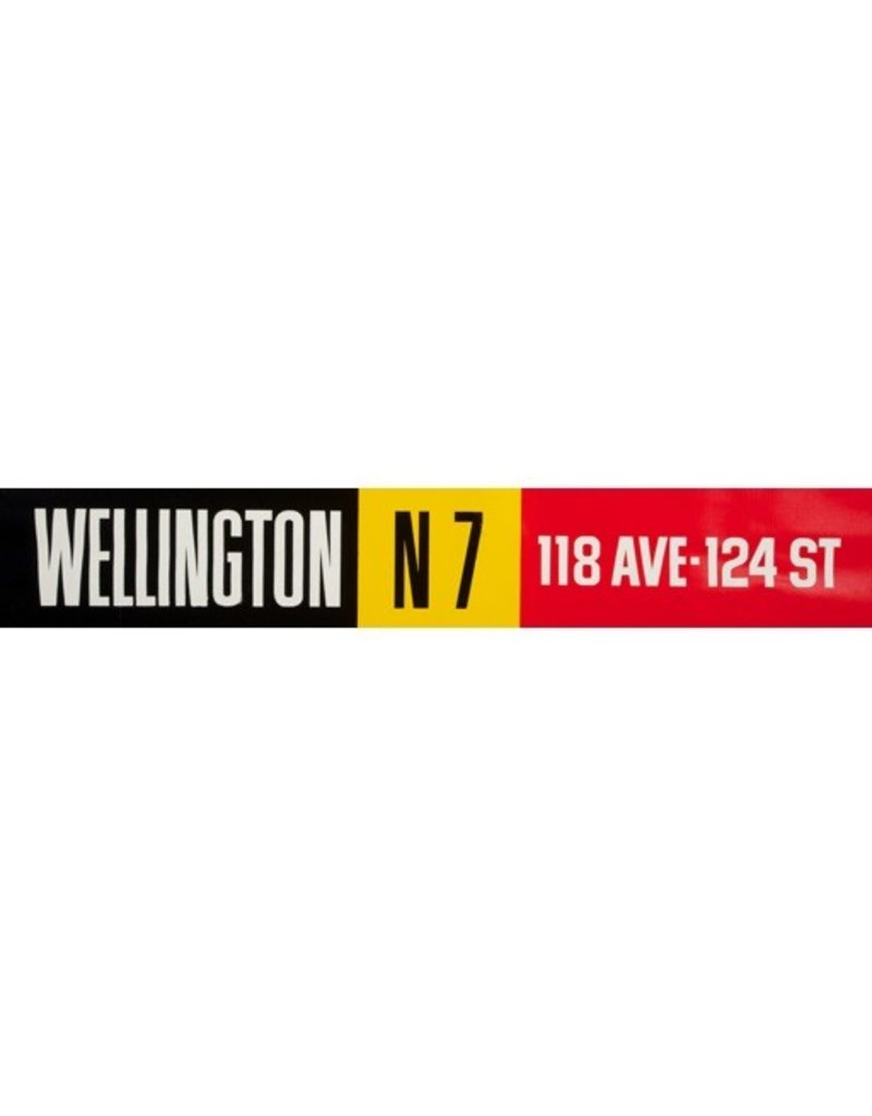 Vivid Print ETS Single Destination | Wellington / 118 Ave-124 St