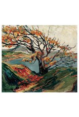 Eurographics Carr - Tree In Autumn (Paper Giclee)