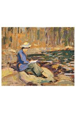 Lismer - My Wife, Sackville River (Paper Giclee)