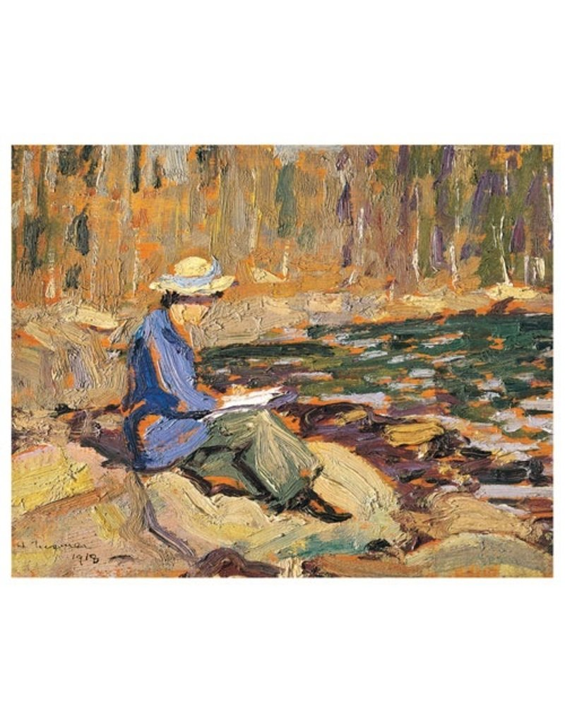 Eurographics Lismer - My Wife, Sackville River (Paper Giclee)
