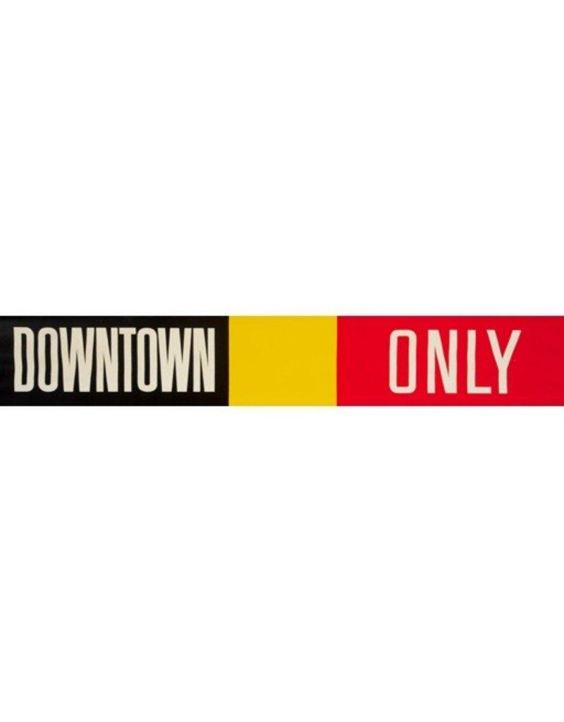 Vivid Print ETS Single Destination   Downtown / Only