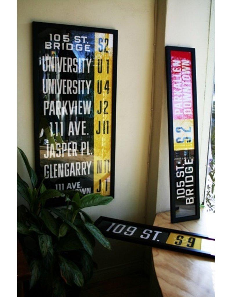 Vivid Print ETS Single Destination | Dawson Bridge / Hardisty Downtown