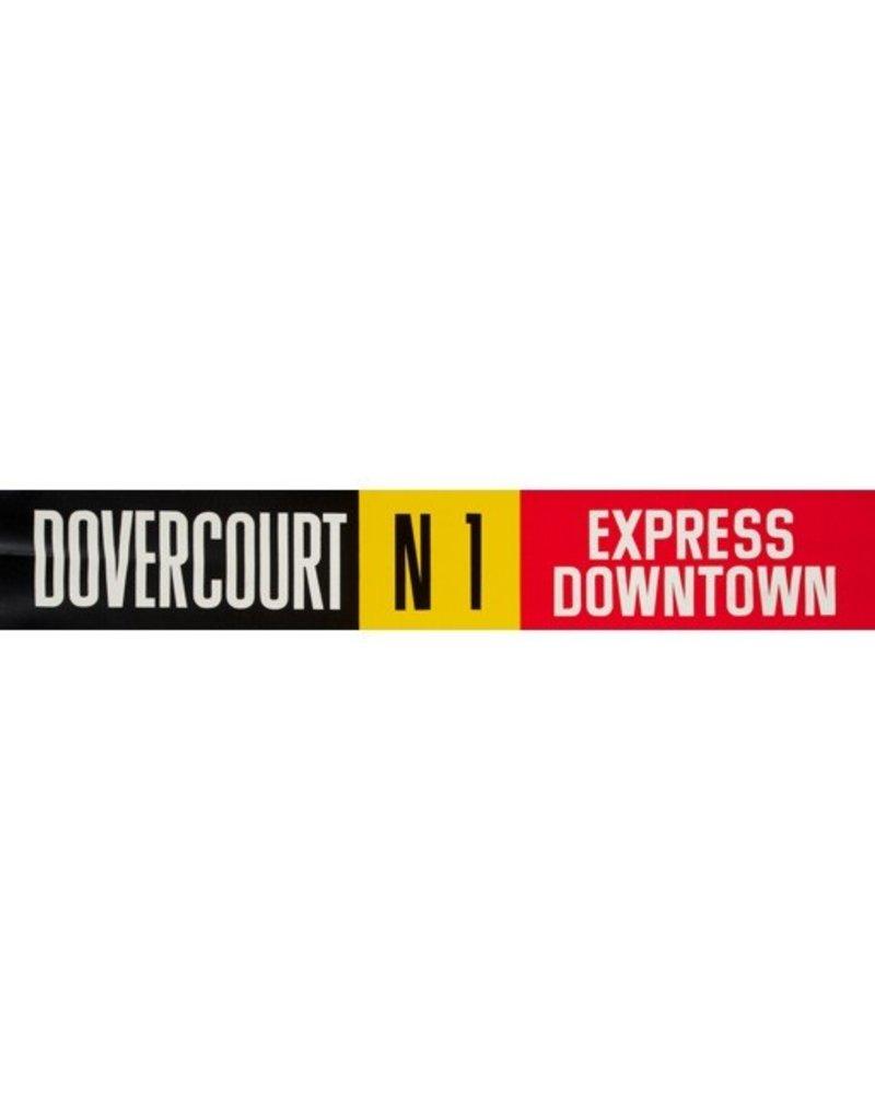 Vivid Print ETS Single Destination   Dovercourt / Express Downtown