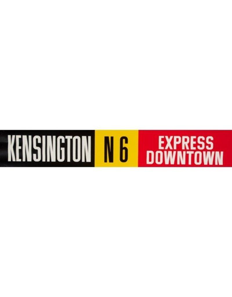 Vivid Print ETS Single Destination   Kensington / Express Downtown