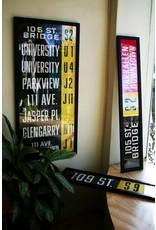 Vivid Print ETS Single Destination | 105 St. Bridge / Parkallen 118 Ave.