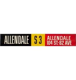 ETS Single Destination | Allendale / Allendale 104 St-82 Avenue