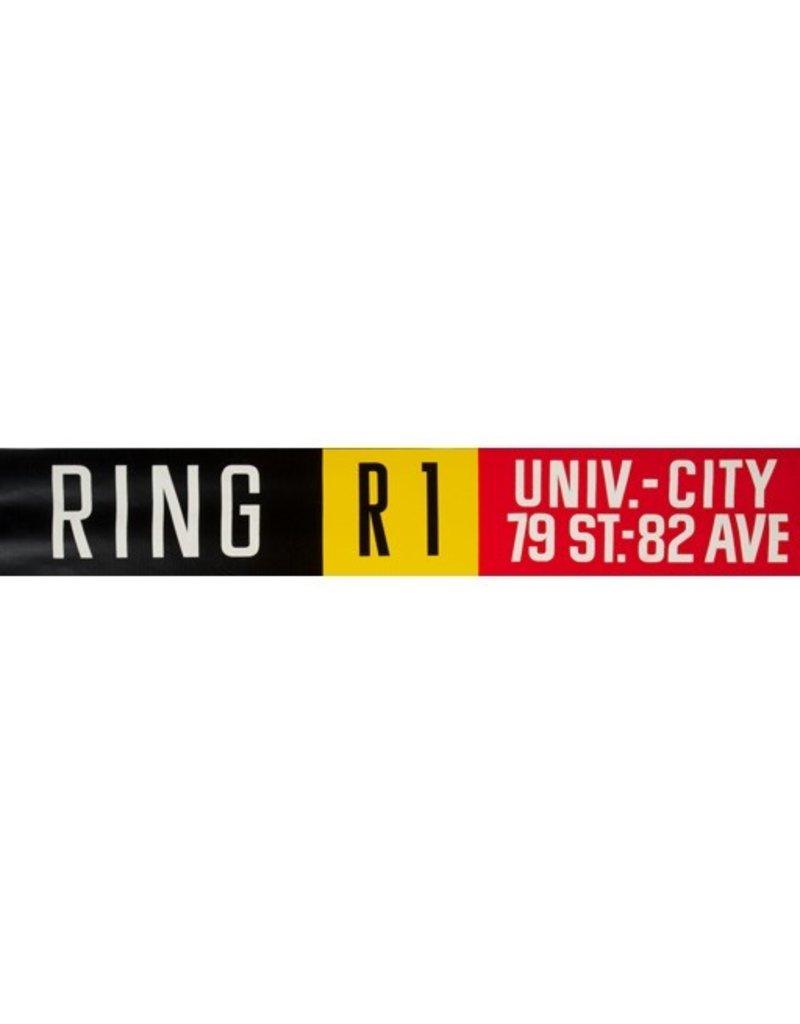 ETS Single Destination   Ring / Univ. - City 79 St. - 82 Ave