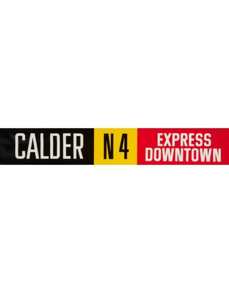 Vivid Print ETS Single Destination   Calder / Express Downtown
