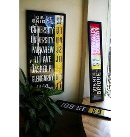 Vivid Print ETS Single Destination | Bonnie Doon Via 76 Ave. / Avonmore Downtown