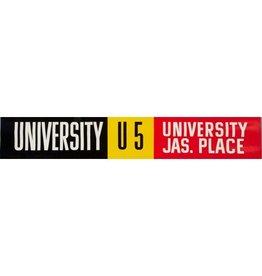 Vivid Print ETS Single Destination | University / University  Jas. Place