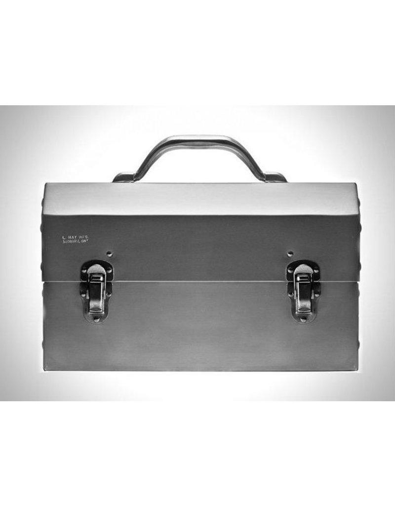 L. May Metal Fabricators Classic Miner's Aluminum Lunchbox