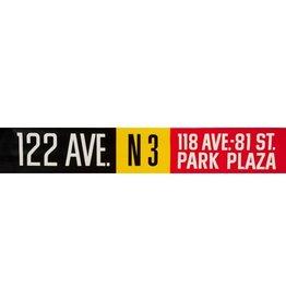 Vivid Print ETS Single Destination | 122 Ave. / 118 Ave.- 81 St. Park Plaza