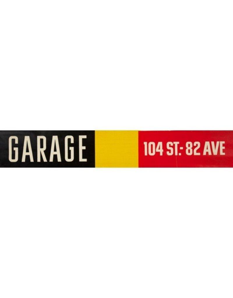 ETS Single Destination   Garage / 104 St.-82 Ave.