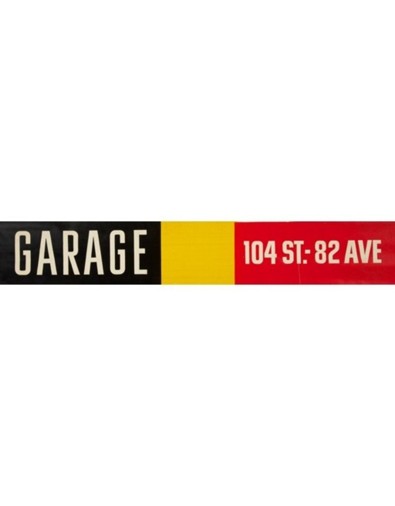 Vivid Print ETS Single Destination | Garage / 104 St.-82 Ave.