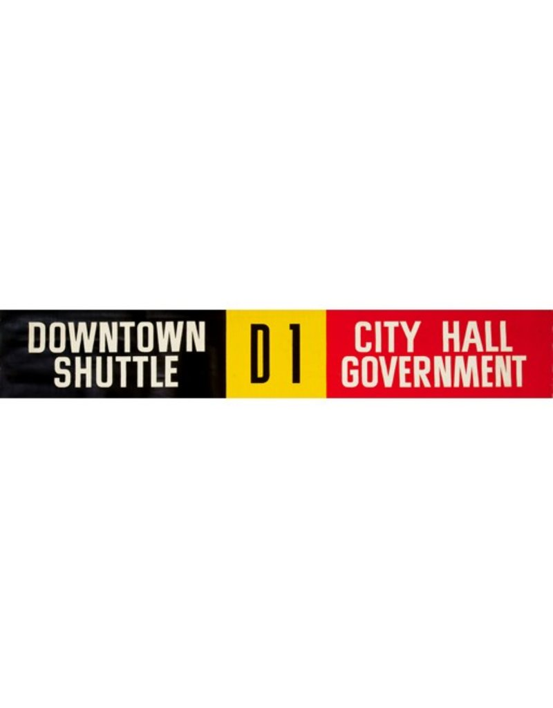ETS Single Destination   Downtown Shuttle / City Hall Government