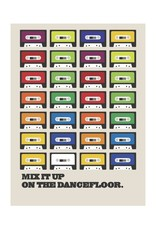 Vivid Print Bee Waeland | Mix it Up on the Dancefloor