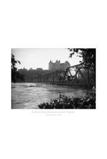 Vivid Archives Low Level Bridge With Train 1915 Poster