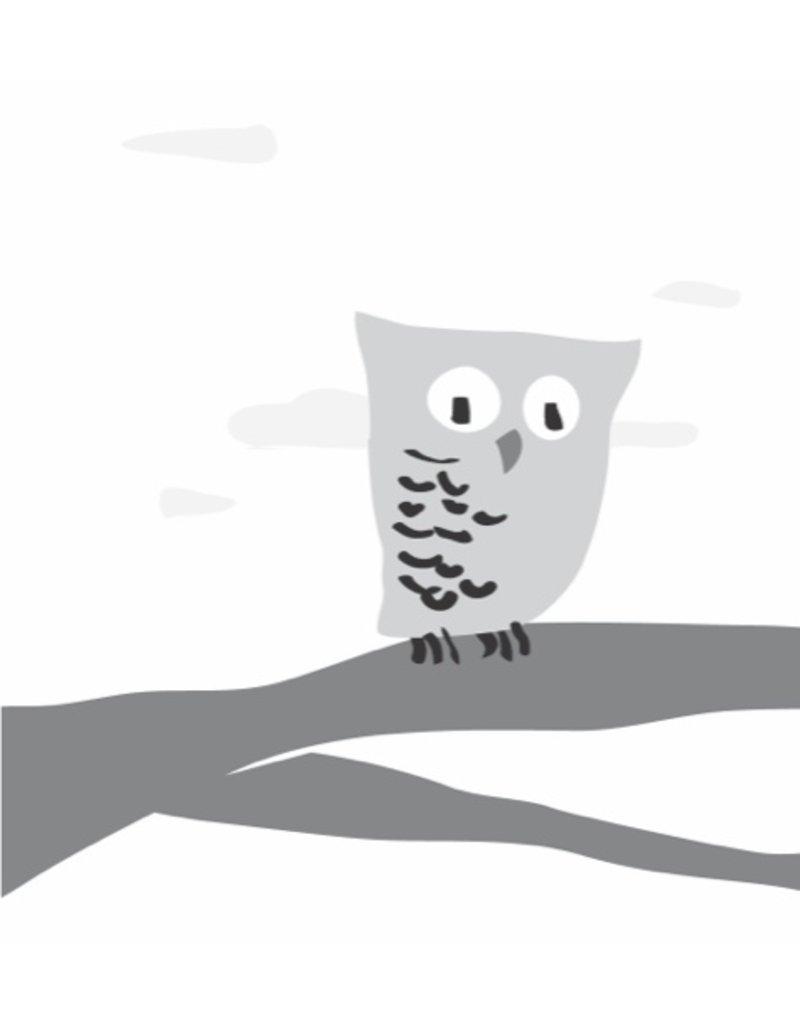 Vivid Print Bee Waeland | Twit Who Owl