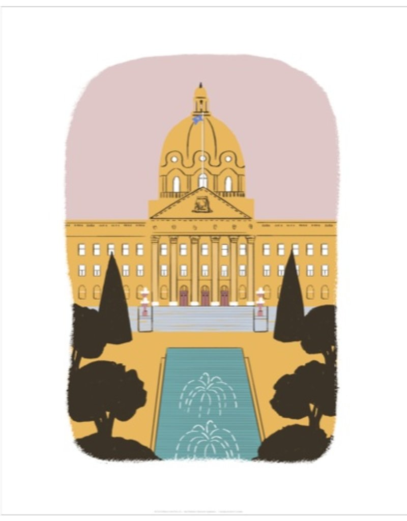 Vivid Print Bee Waeland | Alberta Legislature