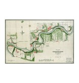 Vivid Archives Plan of Edmonton 1883 Map Plaquemount