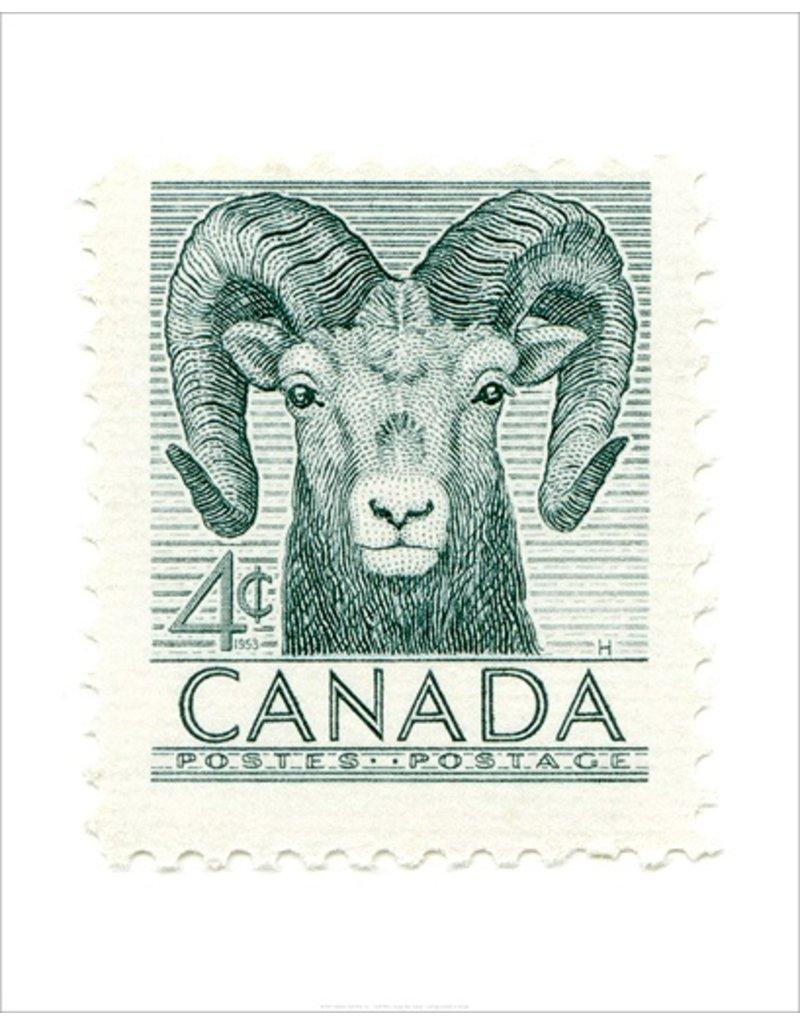 Canada Bighorn Sheep Stamp