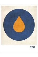 Vivid Print Bee Waeland   A Crush Of Orange II