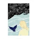 Vivid Print Bee Waeland   Mermaid Lure