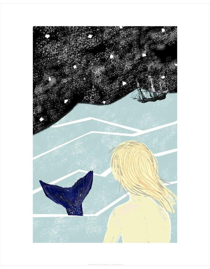 Vivid Print Bee Waeland | Mermaid Lure