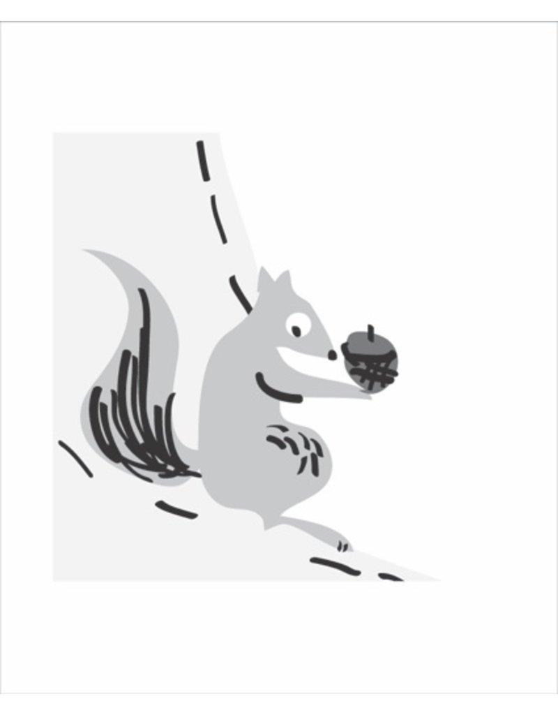 Vivid Print Bee Waeland | Squirrelly