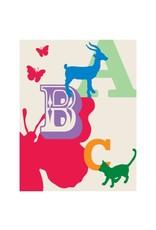 Vivid Print Bee Waeland | Animal ABCs