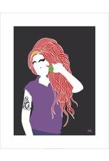 Vivid Print Bee Waeland   Amy Winehouse