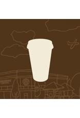 Vivid Print Bee Waeland | ToGo Coffee