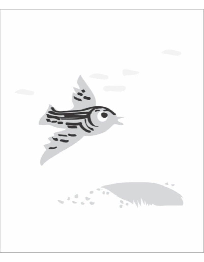 Vivid Print Bee Waeland | Near + Far Bird