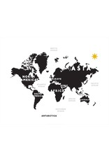 Vivid Print Bee Waeland | White and Black World